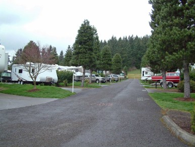 Pheasant Ridge RV Park in the Portland area