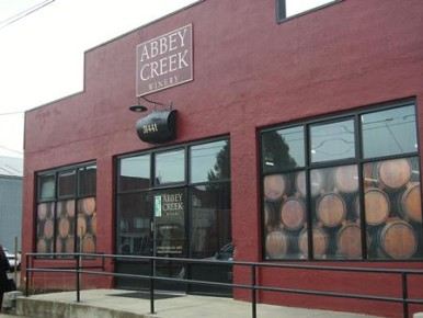 Abbey Creek Winery in North Plains, Oregon