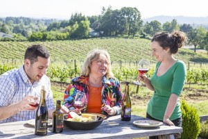 Celebrate Mother's Day with brunch and fabulous wine at Plum Hill Vineyards in Gaston, Oregon