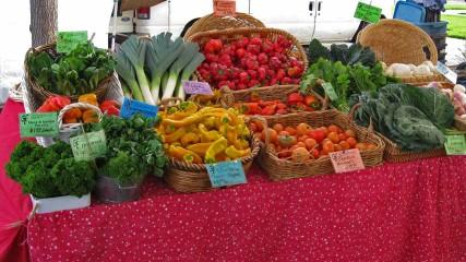 Beaverton Farmers Market in the Tualatin Valley in Oregon