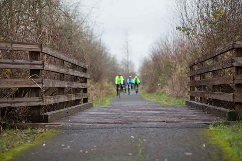 Banks-Vernonia State Trail in Oregon's Tualatin Valley – oregon bike routes