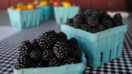 Blackberries from Smith Berry Barn in Hillsboro in Oregon's Tualatin Valley