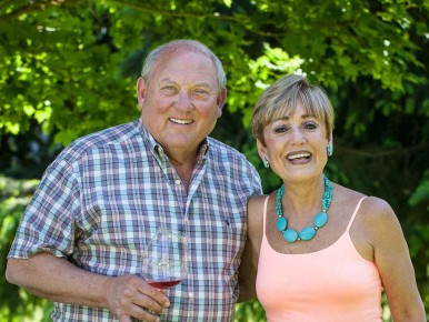 Bill and Sheila Blakeslee of Blakeslee Vineyard Estates in Sherwood, Oregon