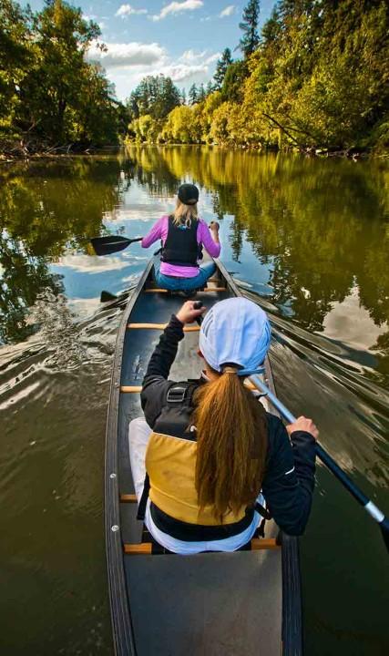 Tualatin River Canoe