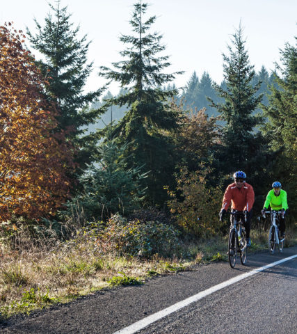 Cycling Oregon's Tualatin Valley in the Fall