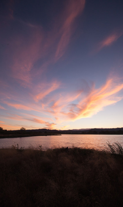 Fernhill Wetlands Sunset