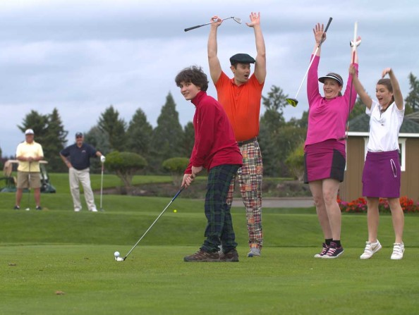 Golfing in Oregon's Tualatin Valley