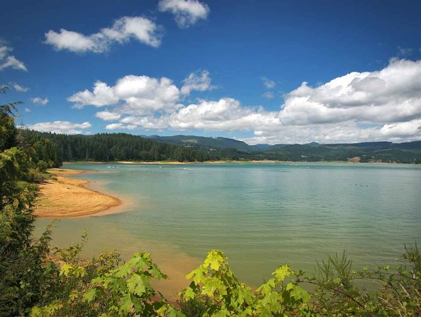 Henry Hagg Lake in Gaston, Oregon
