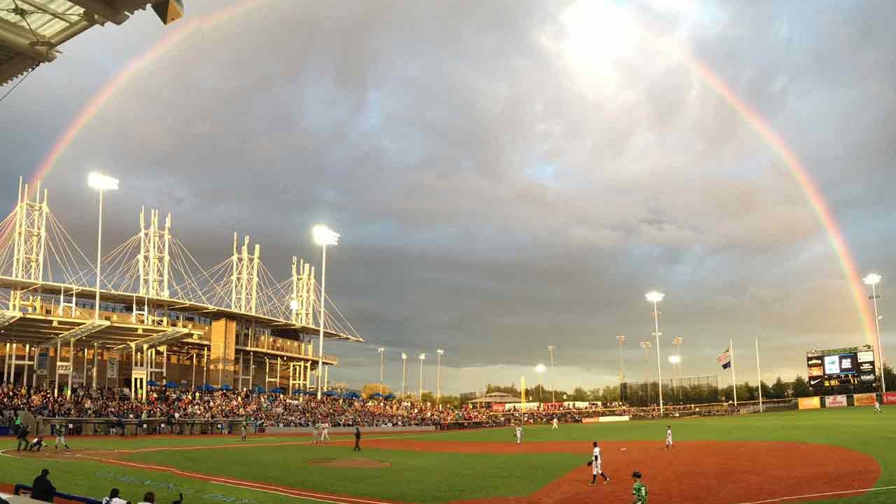 Hillsboro Hops Ballpark in Hillsboro, Oregon