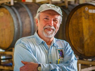John Platt of Helvetia Winery in Hillsboro, Oregon