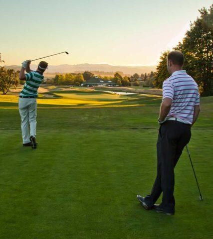 Golf at Pumpkin Ridge
