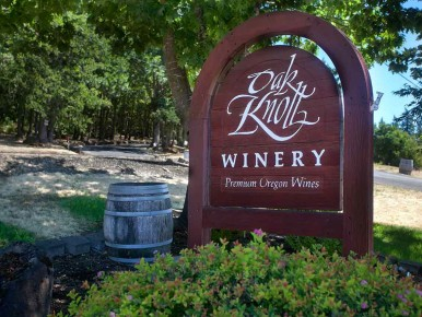Oak Knoll Winery in Hillsboro, Oregon