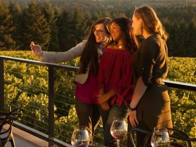 Ponzi Vineyards in Sherwood, Oregon