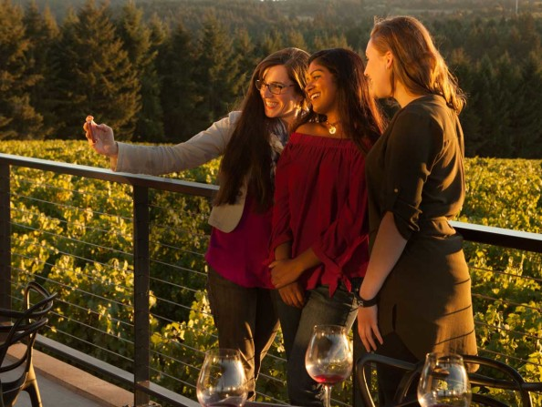 Ponzi Vineyards in Sherwood, Oregon