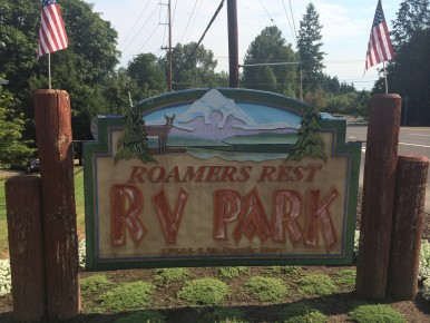 Roamer's Rest RV Park in the Portland Oregon area
