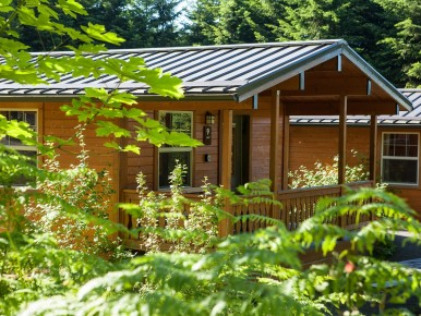 L.L. Stub Stewart State Park's Cabins in Oregon's Tualatin Valley