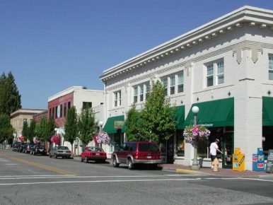 Downtown Sherwood, Oregon