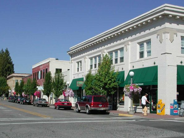 Downtown Sherwood, Oregon