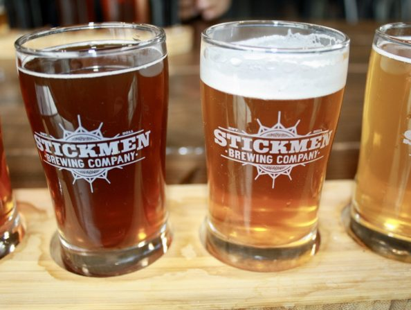 Craft beer at Stickmen Brewing – Tualatin Valley in Oregon