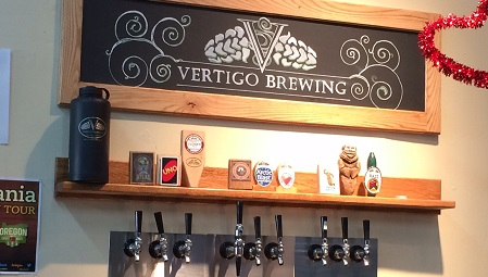 Vertigo Brewing in Hillsboro