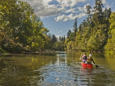 Tualatin River Water Trail in Oregon