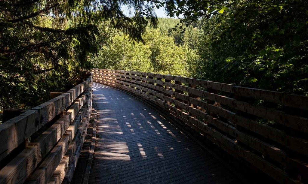 Banks-Vernonia State Trail in Oregon's Tualatin Valley – outdoor recreation, bike trails