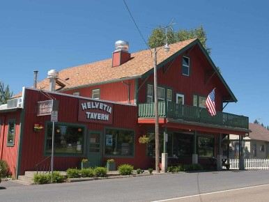 Helvetia Tavern in Oregon's Tualatin Valley