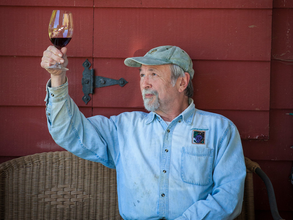 John Platt of Helvetia Winery