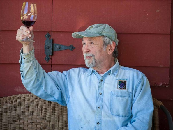 John Platt of Helvetia Winery, Hillsboro, OR in the Tualatin Valley