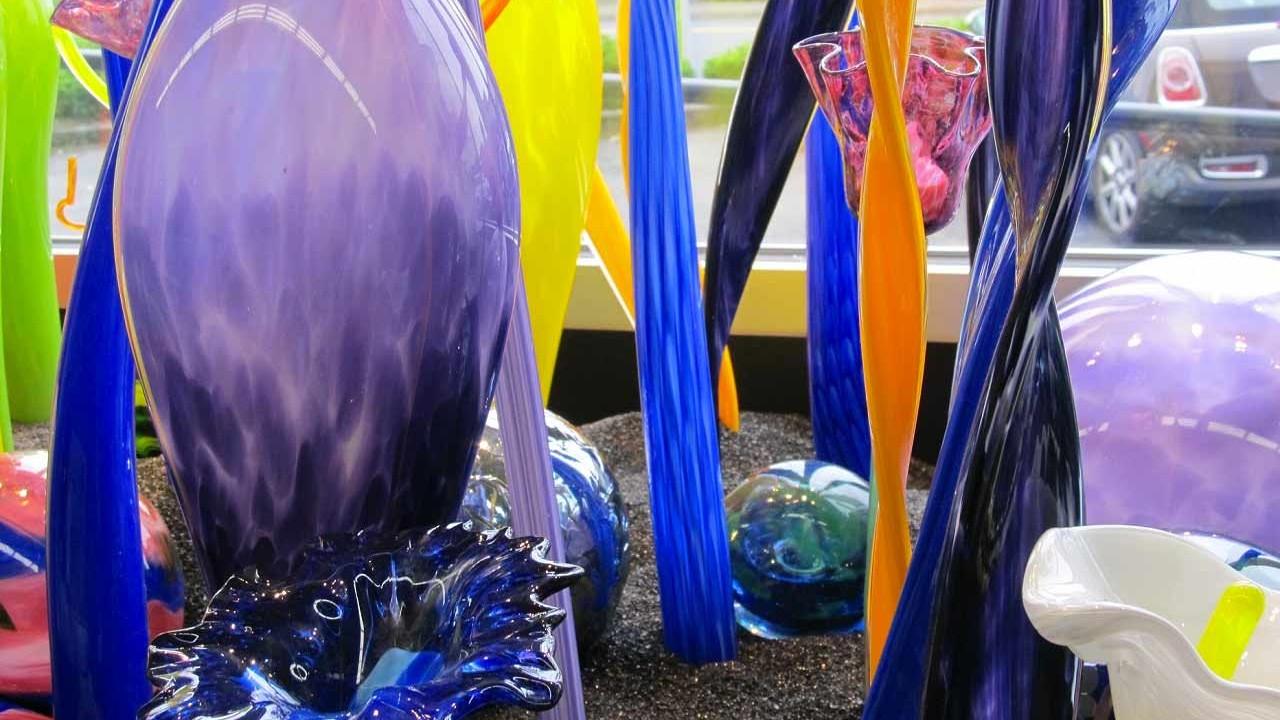 DIY glass art at Art Live Love Laugh in Beaverton, Oregon