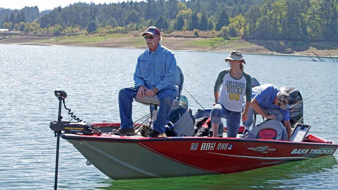 Hagg Lake Fishing