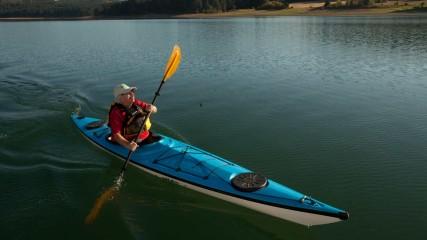 Kayaking at Hagg Lake in Gaston, Oregon