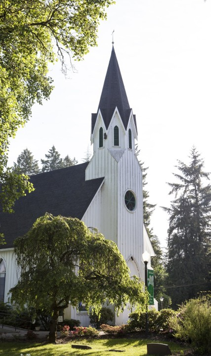 Historic Old Scotch Church in Hillsboro, Oregon