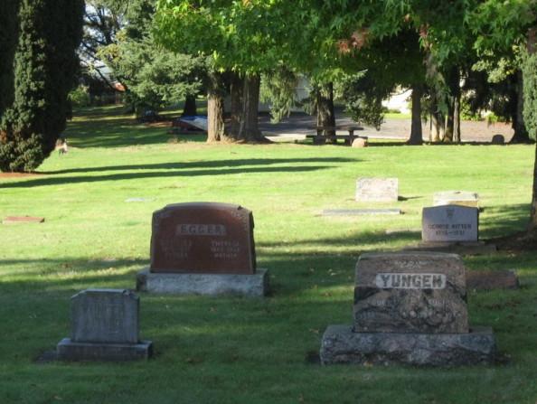 Pioneer Cemetery in Hillsboro, Oregon
