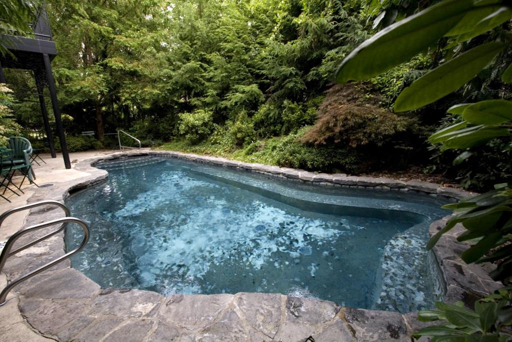 McMenamins Grand Lodge Soaking Pool in Forest Grove