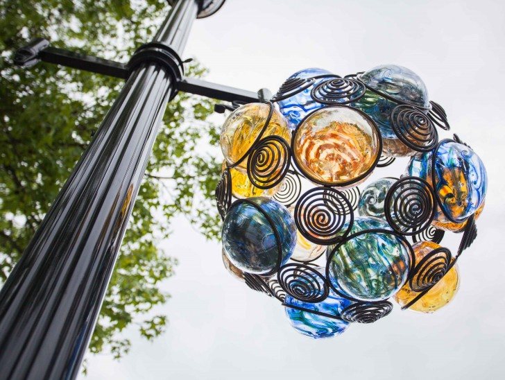 Glass Art in the Tualatin Valley in Oregon