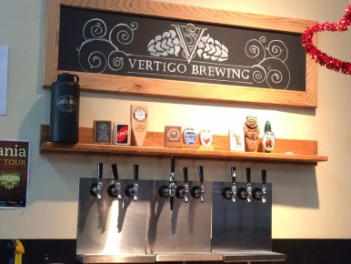 Vertigo Brewing in Hillsboro, Oregon in the Tualatin Valley