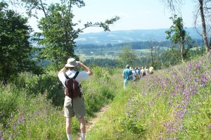 Hiking at Cooper Mountain Nature Park, Beaverton, Oregon in the Tualatin Valley
