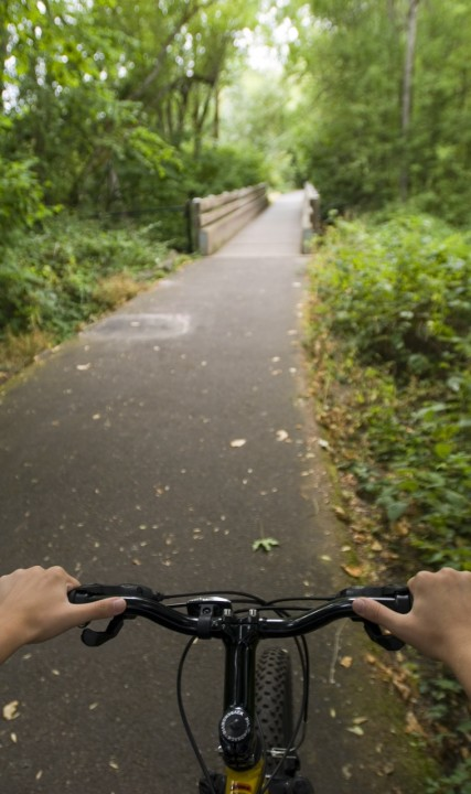 Cycling the Banks-Vernonia State Trail
