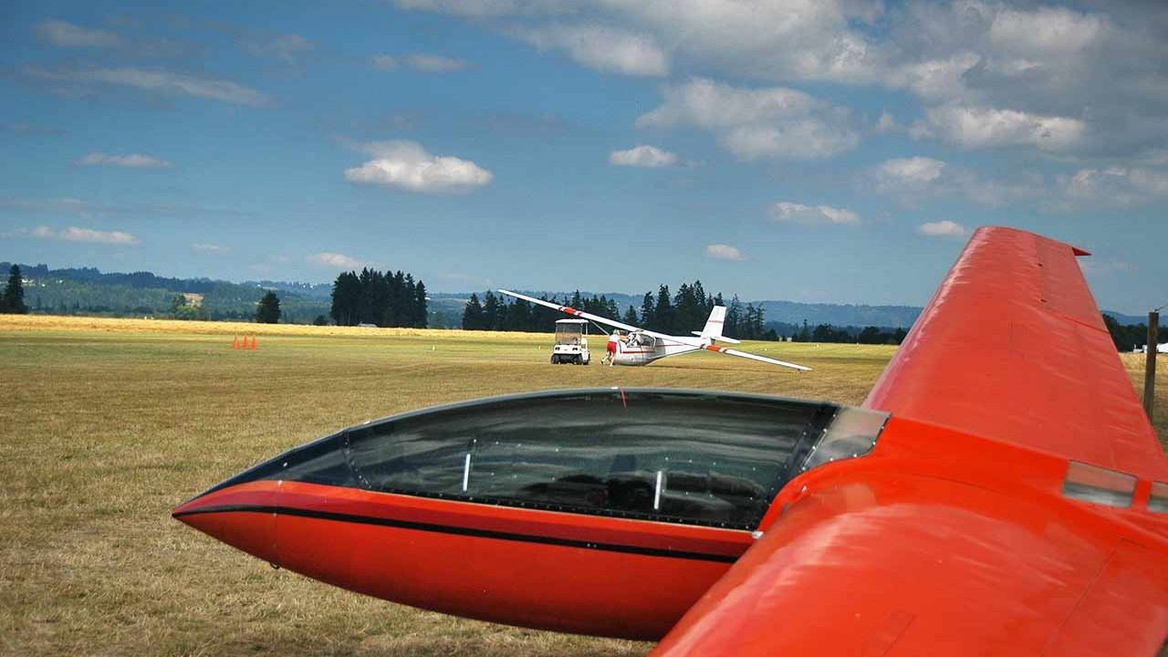 North Plains Glider Port in North Plains, Oregon