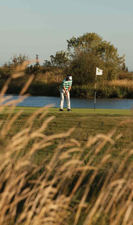 Golfer Pumpkin Ridge