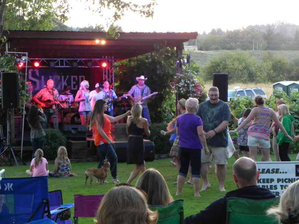 outdoor concerts near Portland