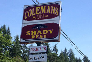 Coleman's 9N Shady Rest