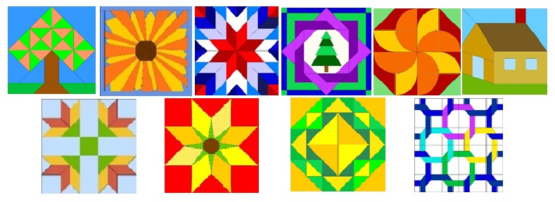 New Quilt Barn quilt blocks, Oregon Quilt Barn Trail