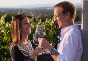 Wine tasting in Oregon's Tualatin Valley, vineyards and wineries