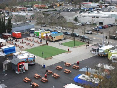 BG Food Cartel Aerial View
