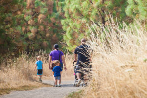 Hiking Cooper Mountain Nature Park in Beaverton in Oregon's Tualatin Valley, family fun, outdoor recreation