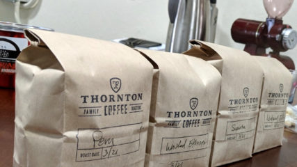 thornton family coffee roasters