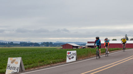 Cycling Inagural Ride Scenic Bikeway
