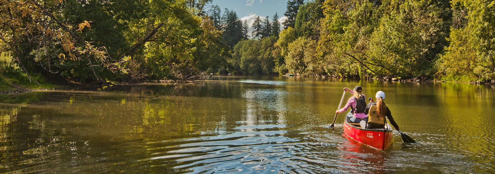 Tualatin River Canoe - Home Carousel 1700 x 600